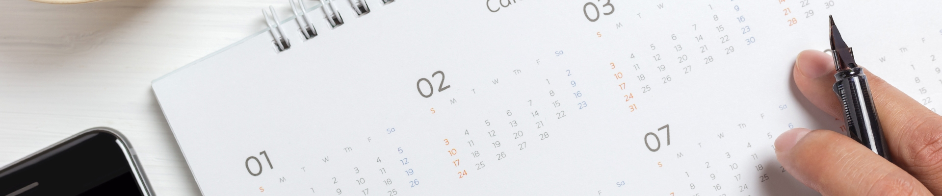 Calendario Banner